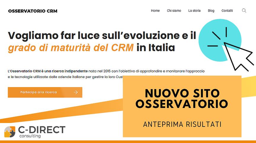 nuovo sito osservatorio